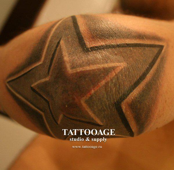 Татуировки для девушек на локте