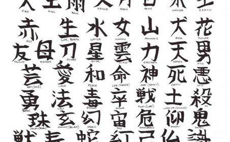 эскизы тату иероглифы: