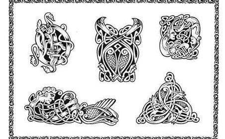 Татуировки эскизы кельские узоры