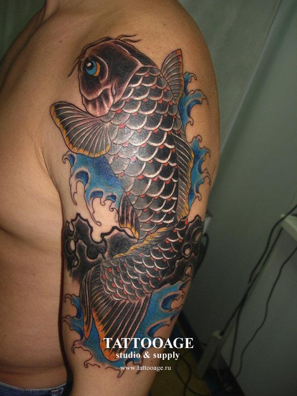 Татуировки с карпом